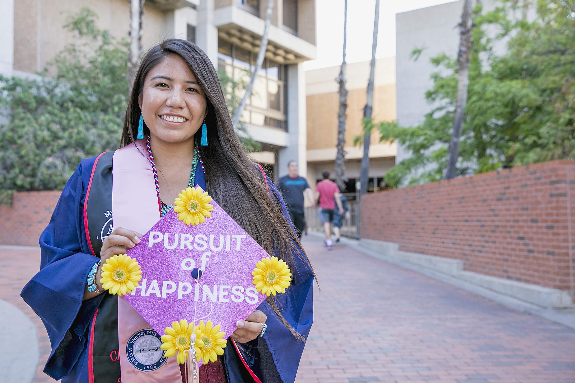 Native American Female Student at UARIZONA